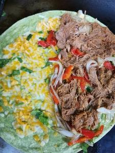 Mexican Pulled Pork Quesadilla